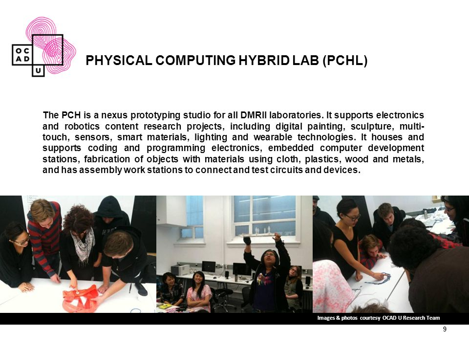 PHYSICAL COMPUTING HYBRID LAB (PCHL)