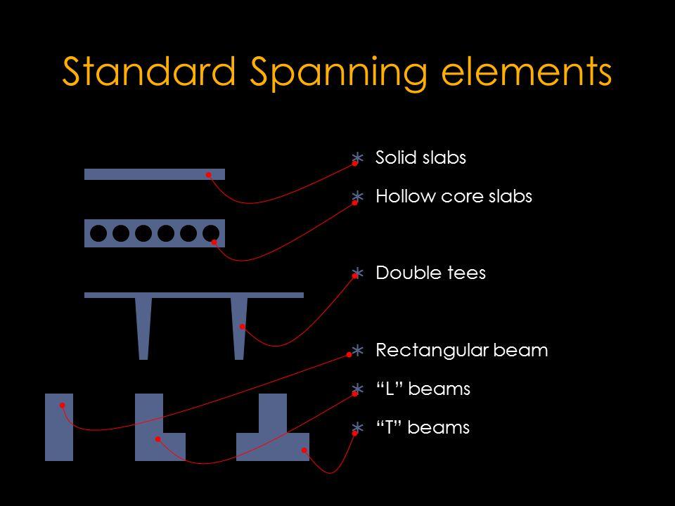 Standard Spanning elements