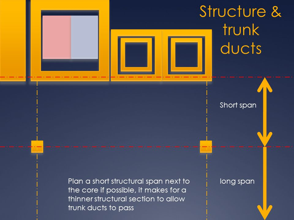 Structure & trunk ducts