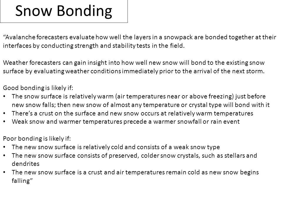 Snow Bonding