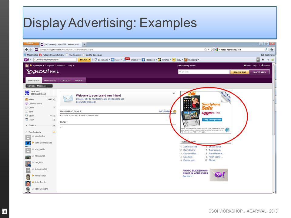Display Advertising: Examples