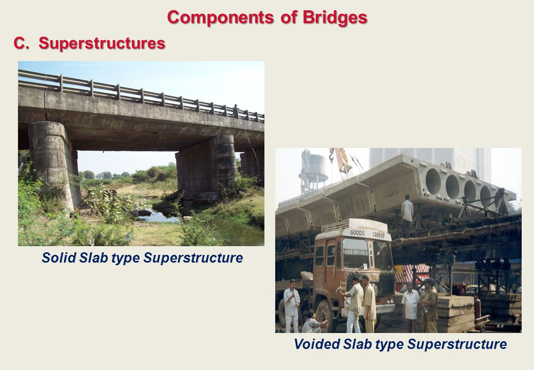Solid Slab type Superstructure Voided Slab type Superstructure