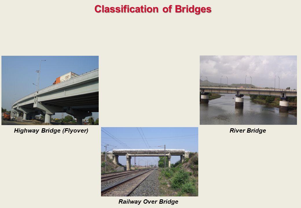 Classification of Bridges Highway Bridge (Flyover)