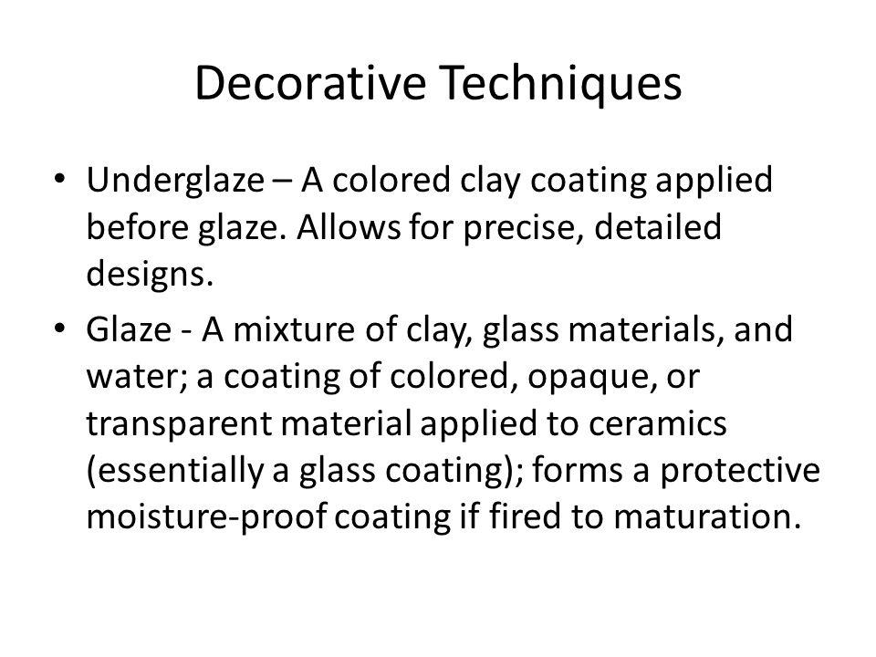 Decorative Techniques
