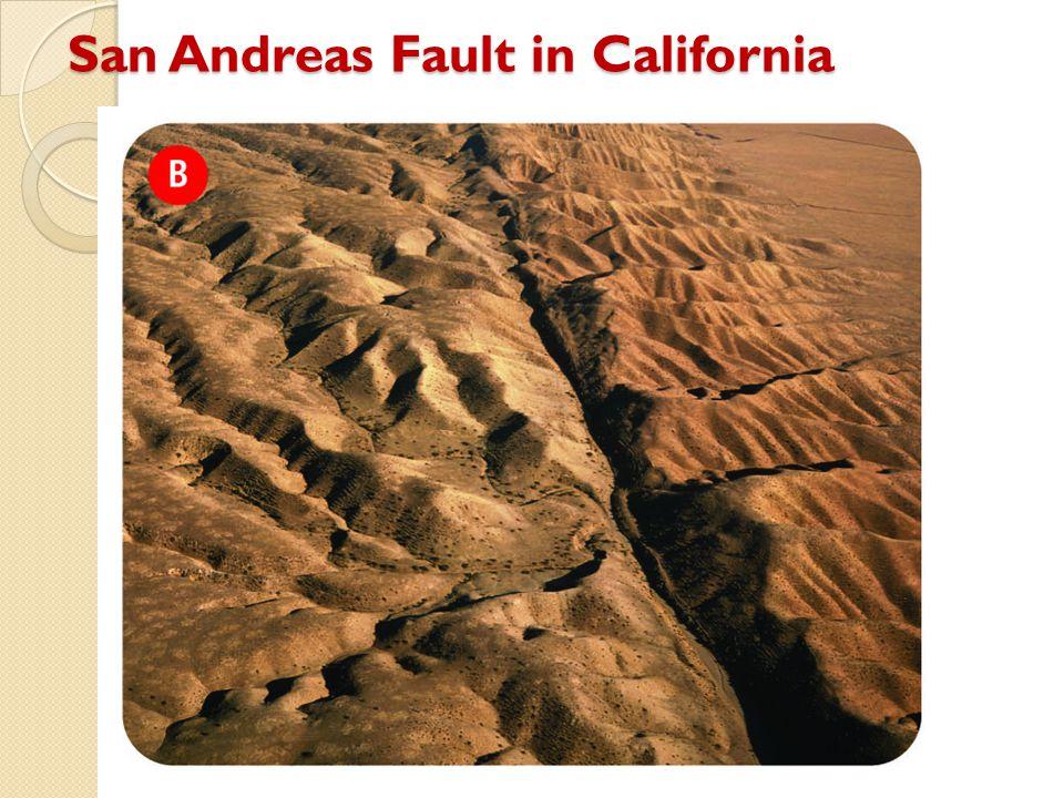 San Andreas Fault in California
