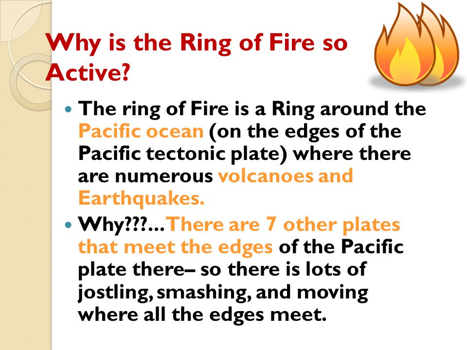 Why is the Ring of Fire so Active