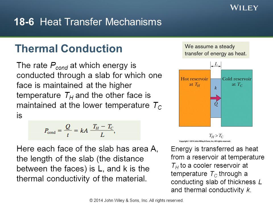 18-6 Heat Transfer Mechanisms