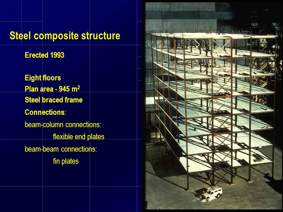 Steel composite structure