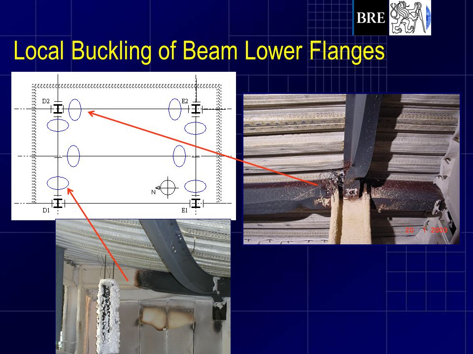 Local Buckling of Beam Lower Flanges