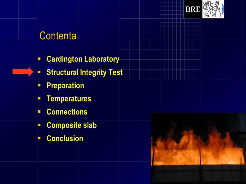 Contenta Cardington Laboratory Structural Integrity Test Preparation