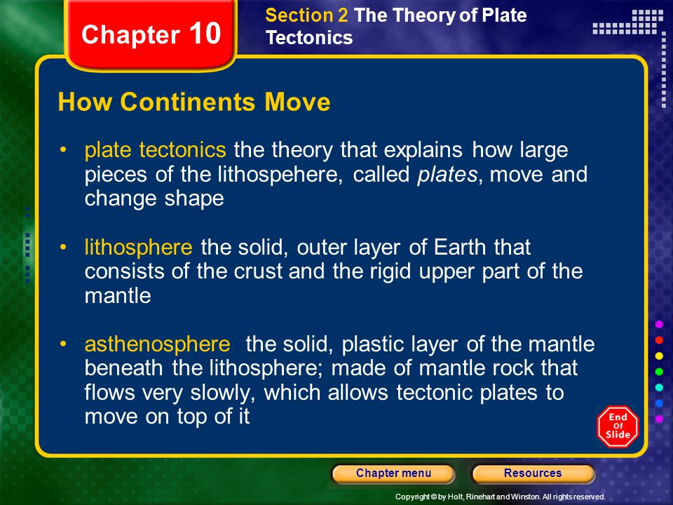 Chapter 10 How Continents Move