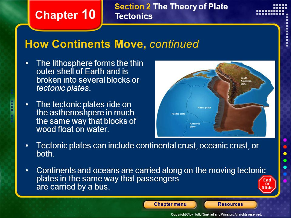 How Continents Move, continued