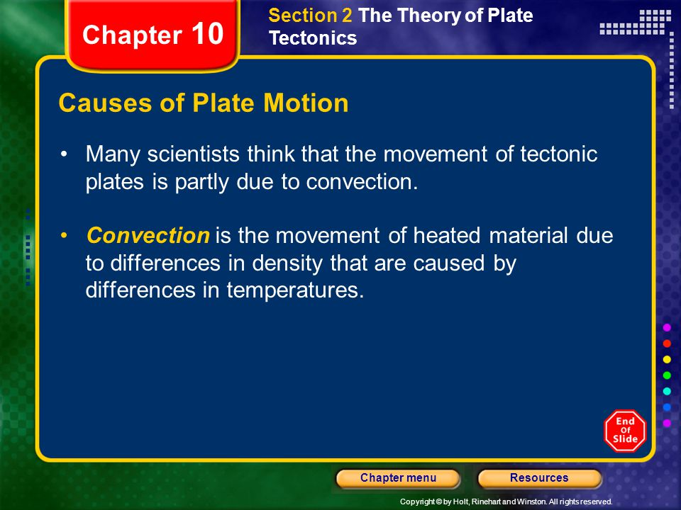 Chapter 10 Causes of Plate Motion