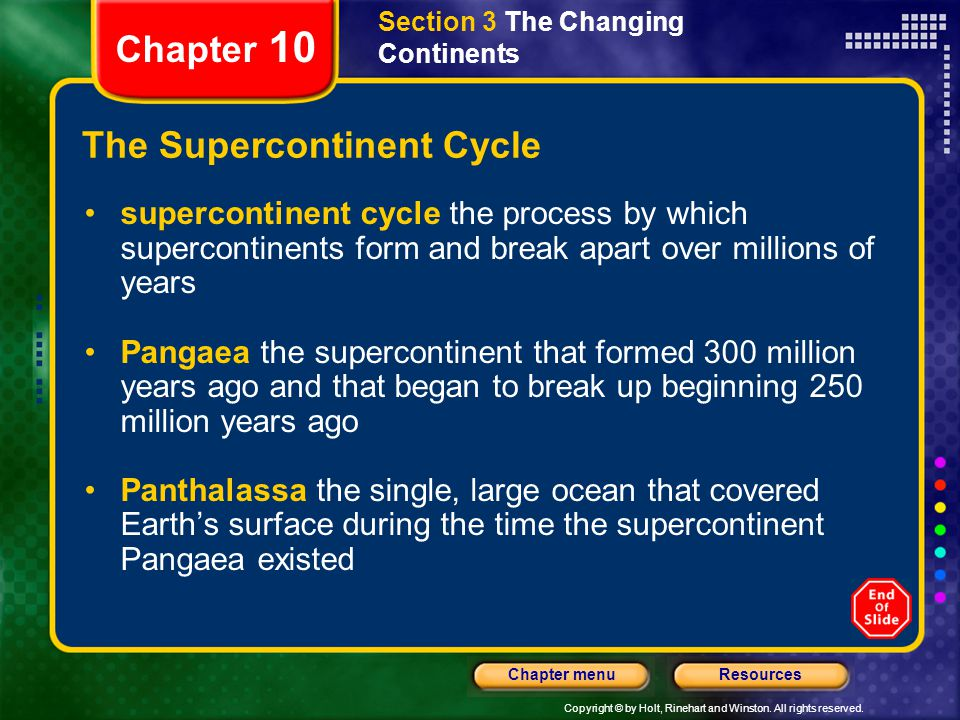 The Supercontinent Cycle