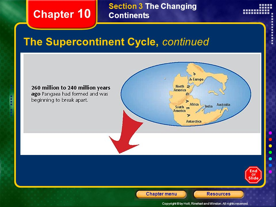 The Supercontinent Cycle, continued