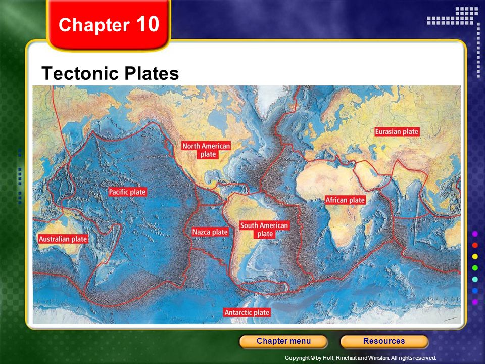 Chapter 10 Tectonic Plates