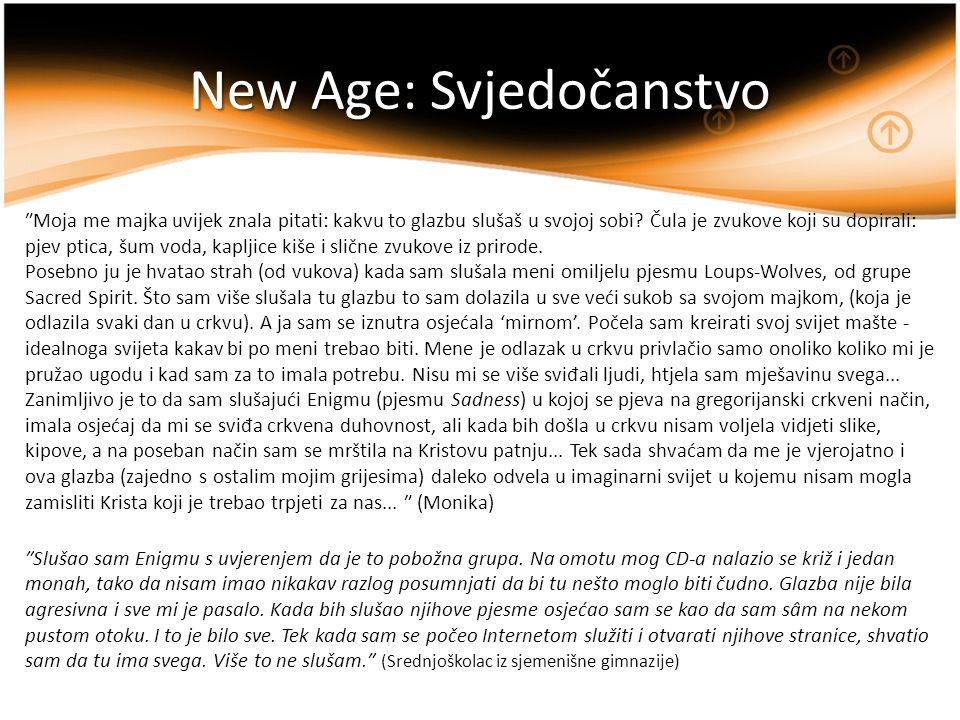 New Age: Svjedočanstvo