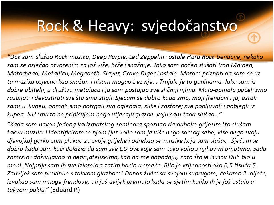 Rock & Heavy: svjedočanstvo