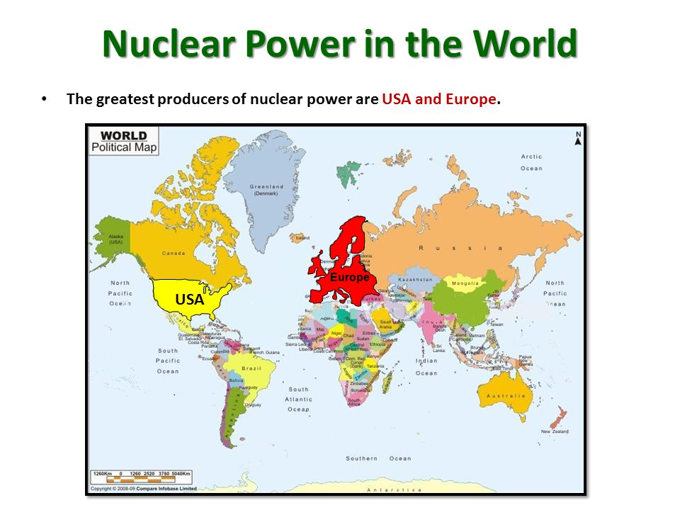 Nuclear Power in the World