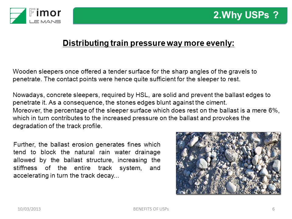 Distributing train pressure way more evenly: