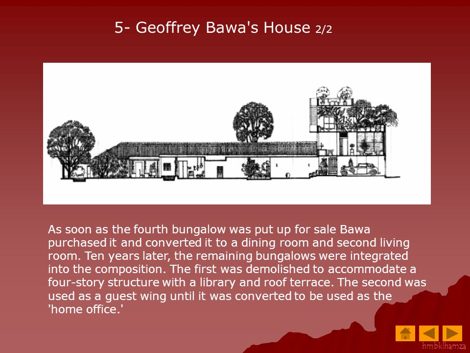 5- Geoffrey Bawa s House 2/2