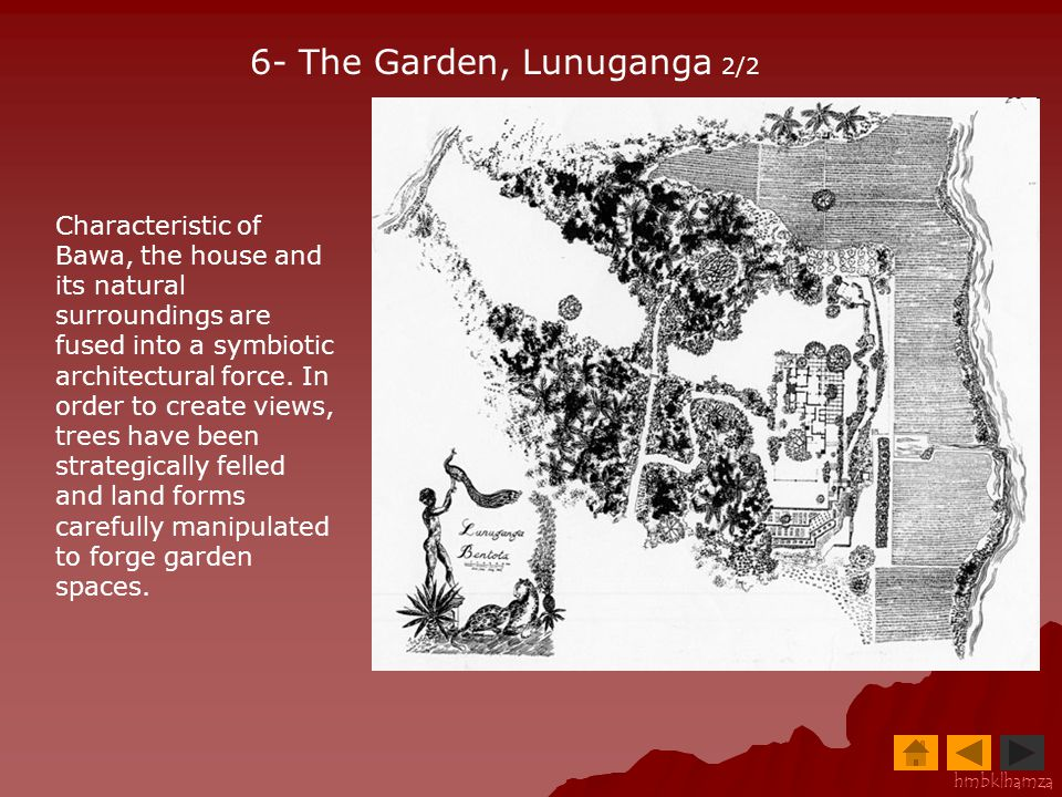 6- The Garden, Lunuganga 2/2