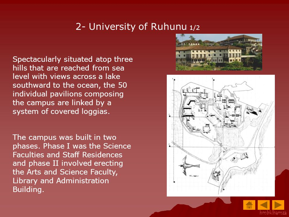2- University of Ruhunu 1/2