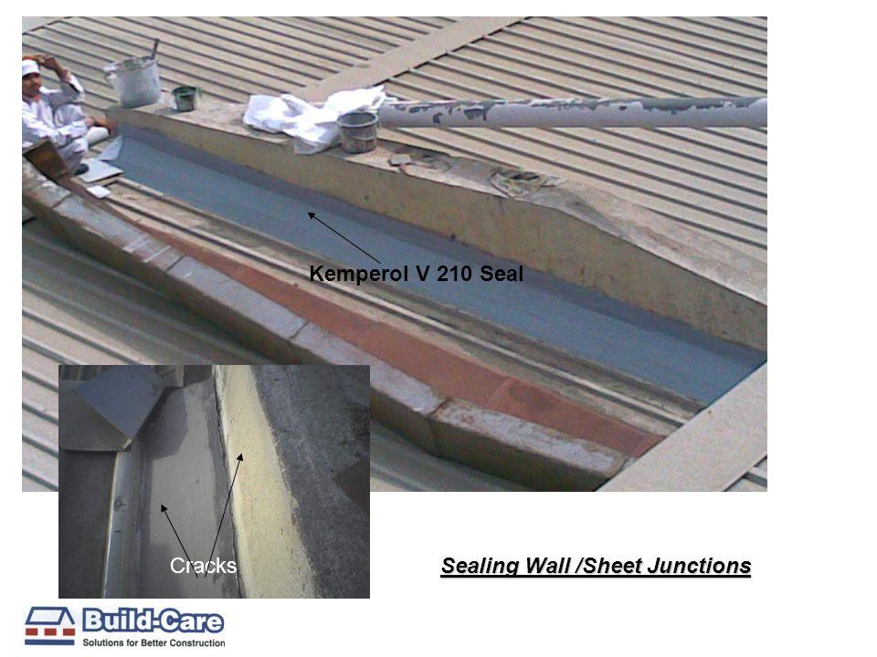 Kemperol V 210 Seal Cracks Sealing Wall /Sheet Junctions