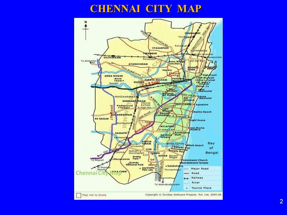 CHENNAI CITY MAP 2 2