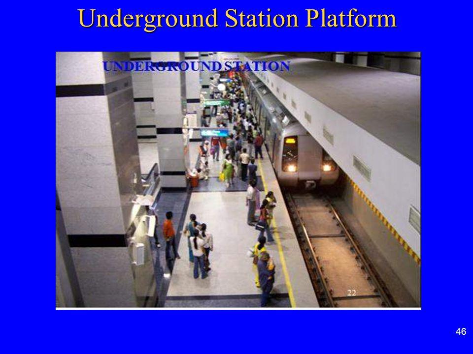 Underground Station Platform