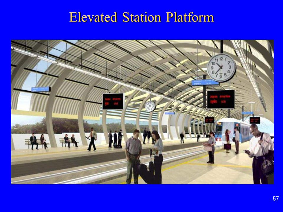 Elevated Station Platform