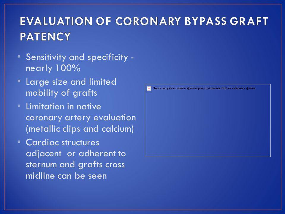 EVALUATION OF CORONARY BYPASS GRAFT PATENCY