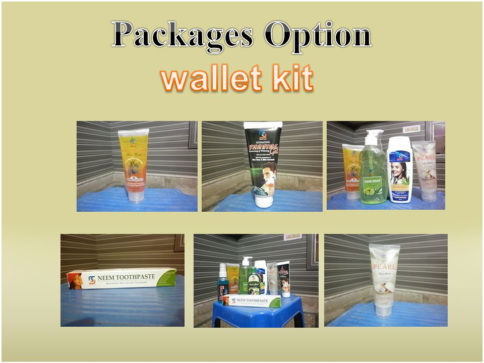 Packages Option wallet kit