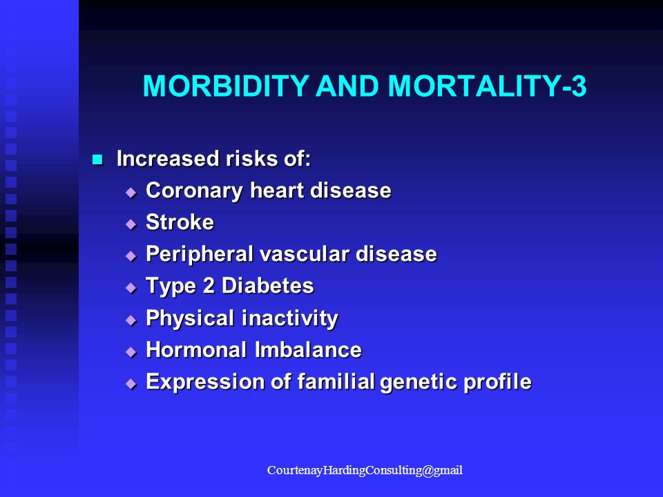 MORBIDITY AND MORTALITY-3