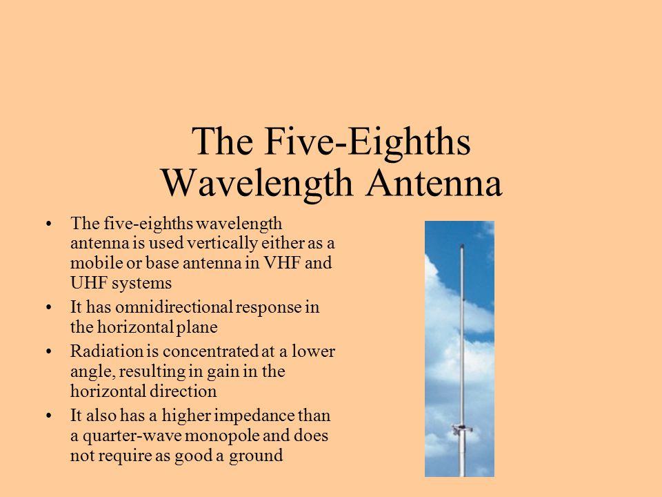The Five-Eighths Wavelength Antenna