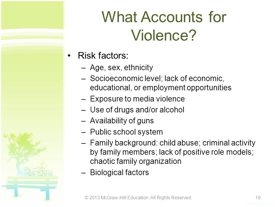 What Accounts for Violence