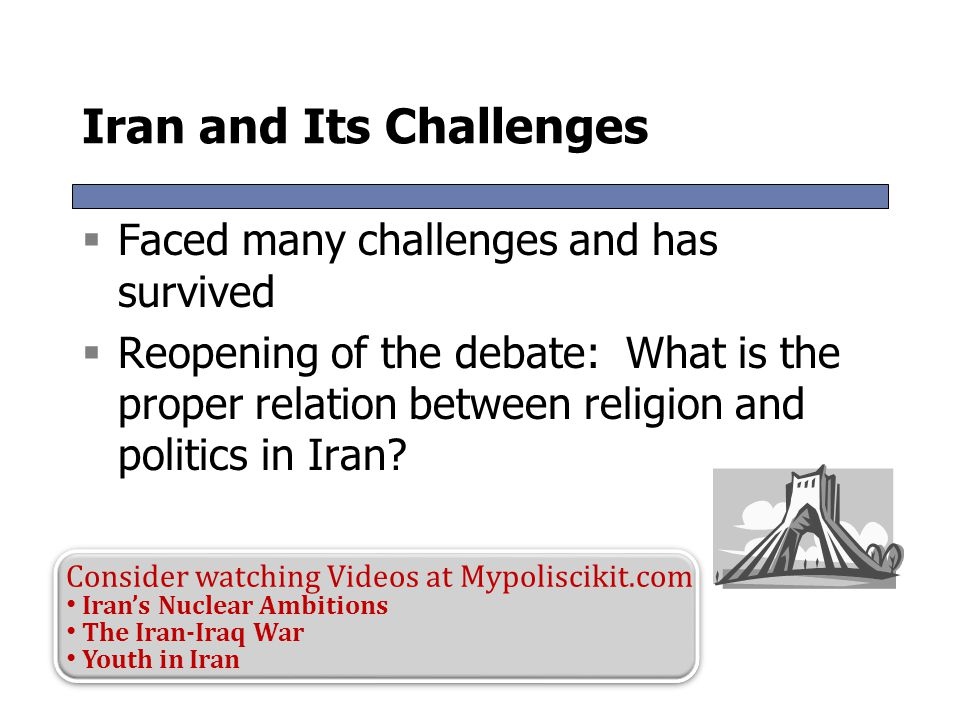 Iran and Its Challenges