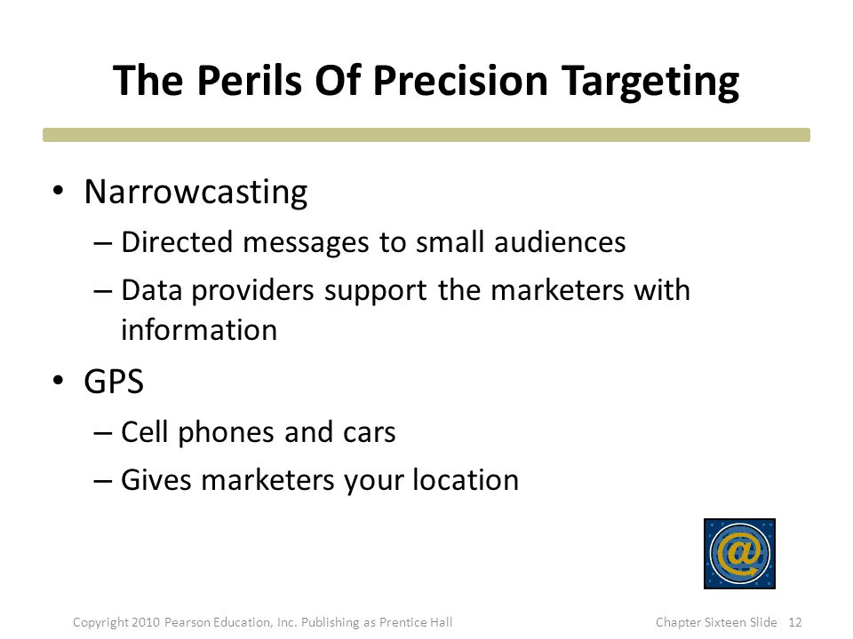 The Perils Of Precision Targeting