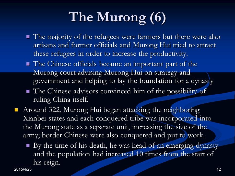 The Murong (6)