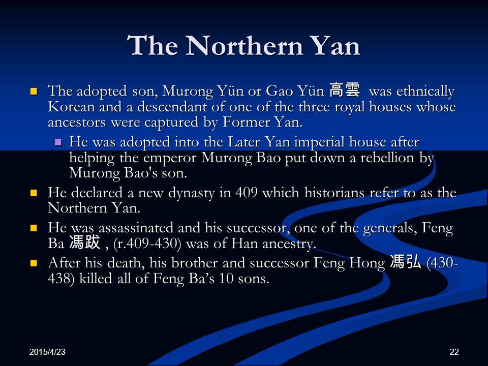 The Northern Yan