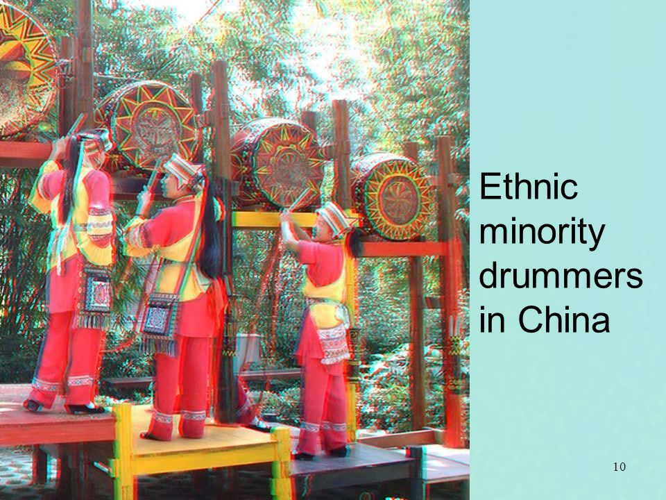 Ethnic minority drummers in China