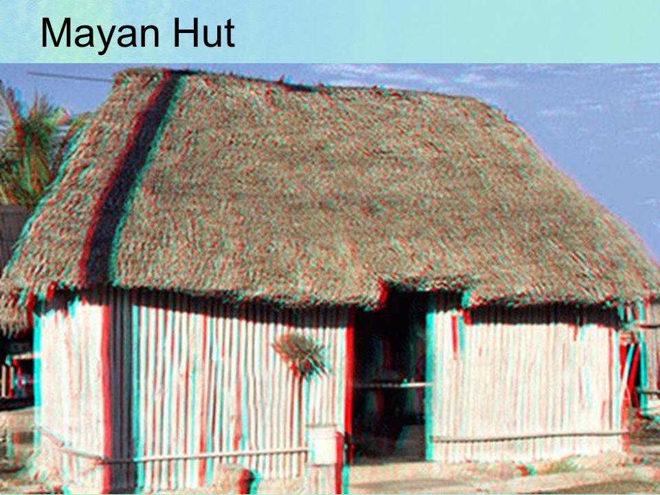 Mayan Hut The Human Mosaic