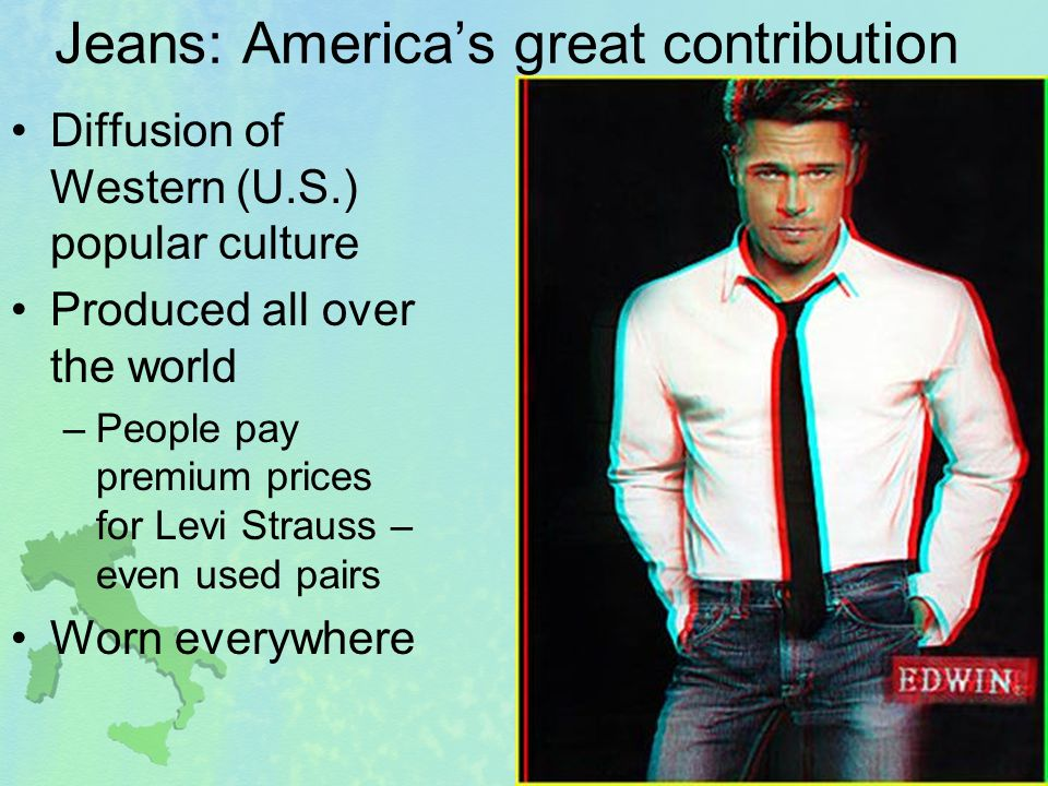 Jeans: America's great contribution