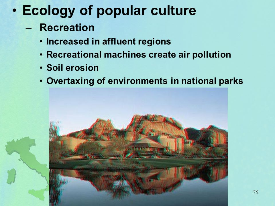Ecology of popular culture
