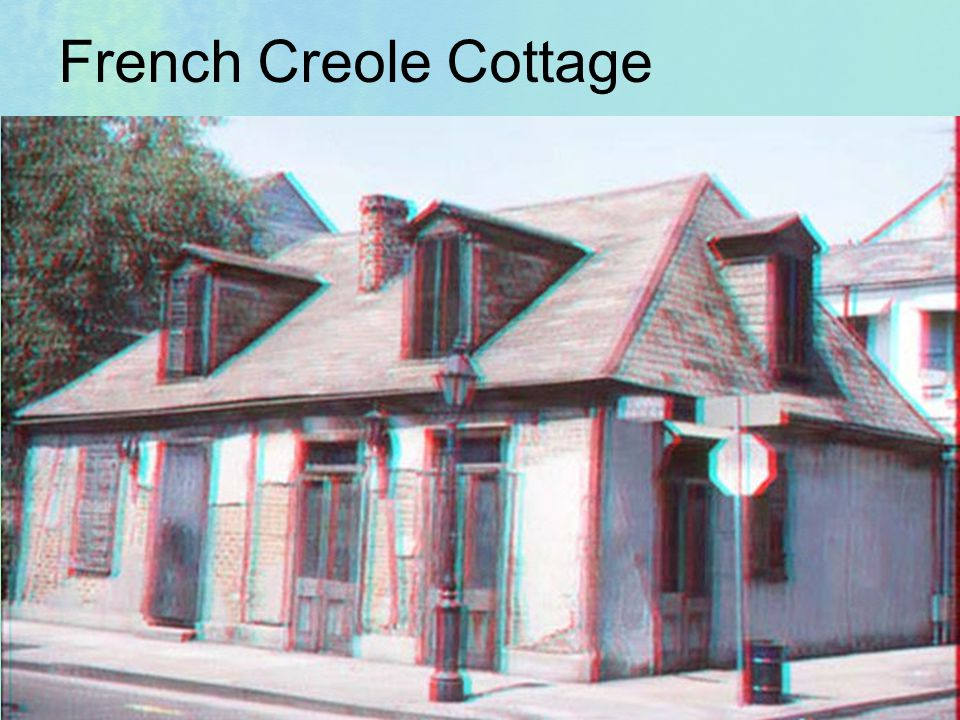 French Creole Cottage