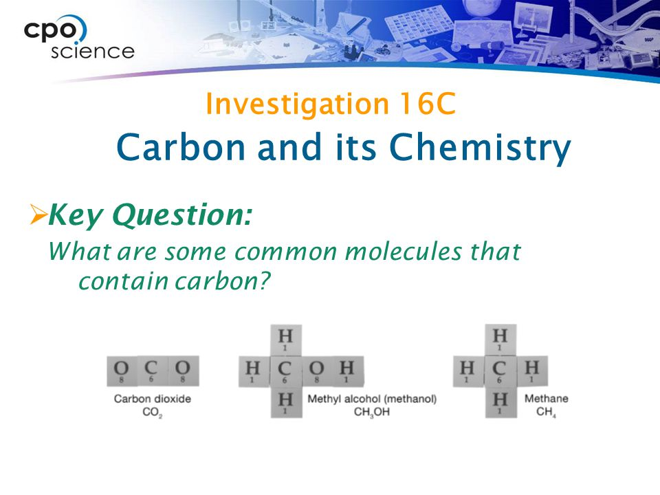 Carbon and its Chemistry