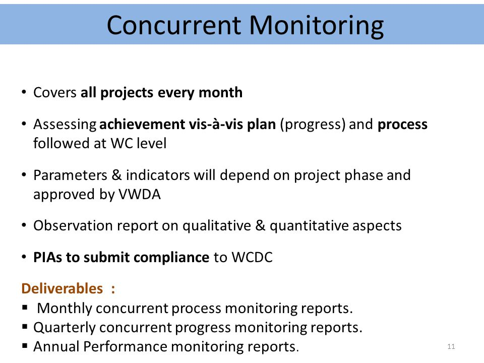 Concurrent Monitoring