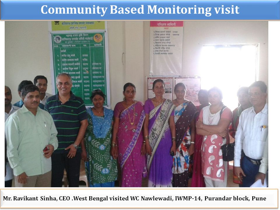 Community Based Monitoring visit