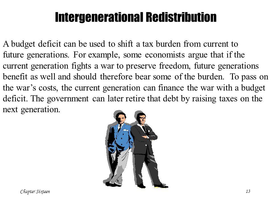 Intergenerational Redistribution