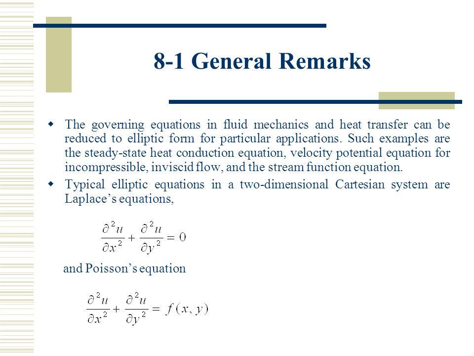 8-1 General Remarks